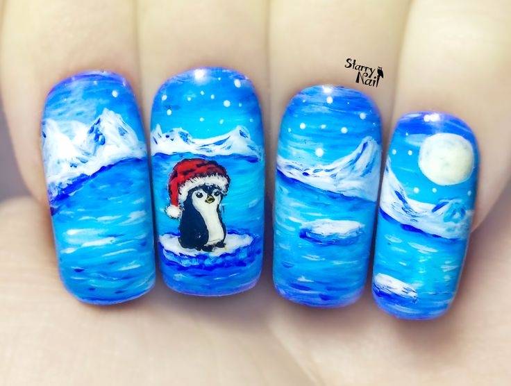 61 best Nails - scenes images on Pinterest | Scenery, Cute nails and ...