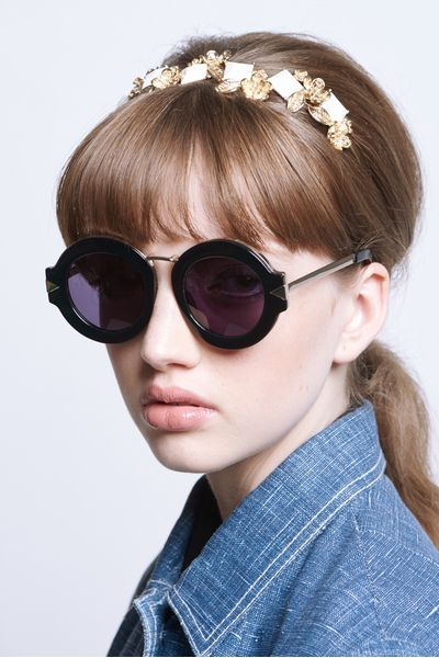 Alternative Fit Maze Black & Gold - All Eyewear Collections | Karen Walker