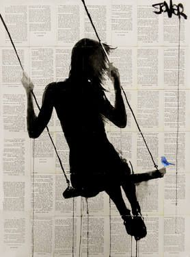 "Saatchi Art Artist Loui Jover; Drawing, ""the freedom of sometimes"" #art"
