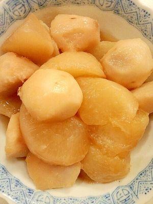 「大根と里芋の煮物♪」あまり煮物が好きでない旦那さんが絶賛!大根が軟らかくて美味しい~【楽天レシピ】