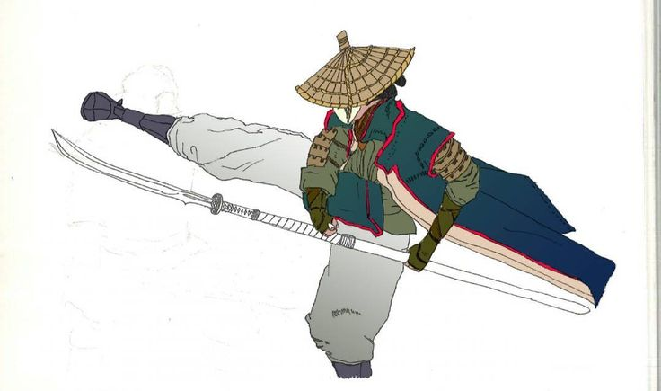 """50 Likes, 2 Comments - salajova on Instagram: """"#WIP of another nobushi ... And there's certainly more to come . Been trying to draw more…""""  #nobushi #forhonor #for #honor #fighter #art #drawing #ink #photoshop #beautiful #pose #fighting #samurai #japan #girl #woman #weapon #katana #badass"""
