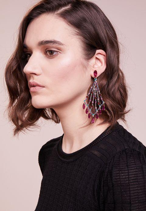 CASCADE STATEMENT EARRINGS - Boucles d'oreilles - multi-coloured. kate  spade new york ...