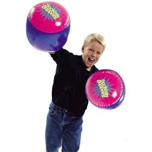 Socker Boppers. More fun than a pillow fight.