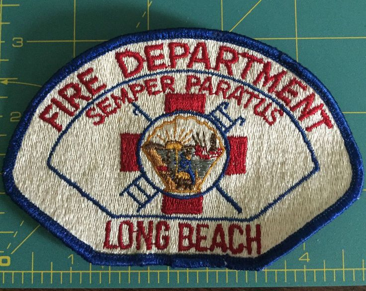 Long Beach, CA Fire Department patch