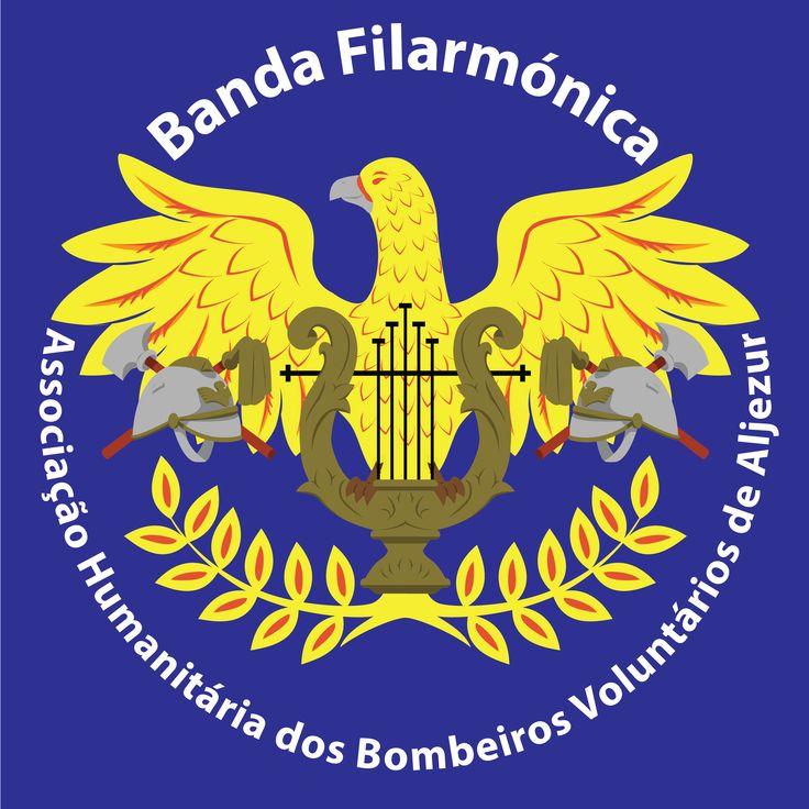 Logótipo da Banda Filarmónica dos Bombeiros Voluntários de Aljezur