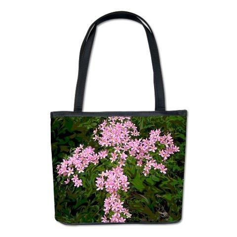 Crosia Flower Designs Bags : Flower Cross Bucket Bag > Birds,Butterflies and Flowers > Pop ...