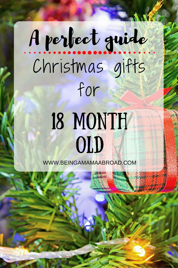 A perfect Christmas wishlist of toy and non-toy items for 18 month old toddlers.
