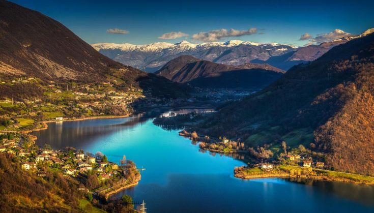 Lago d'Endine: itinerario turistico alla scoperta delle bellezze naturali di questo lago lombardo situato in provincia di Bergamo e dei suoi dintorni