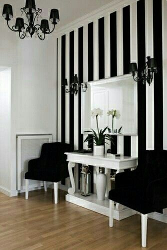 Can't wait to get our own place again! And have my man paint me a wall like this one #elegant_salon_decor