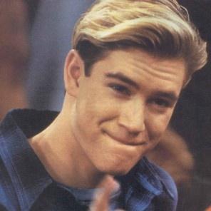 Zack Morris...the original heartthrob