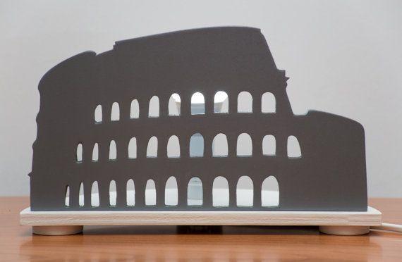 LAMPADA Decorativa COLOSSEO ROMA Italia Lampada Studio