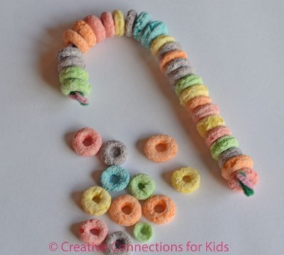 Fruit loop necklaces instead of candy.