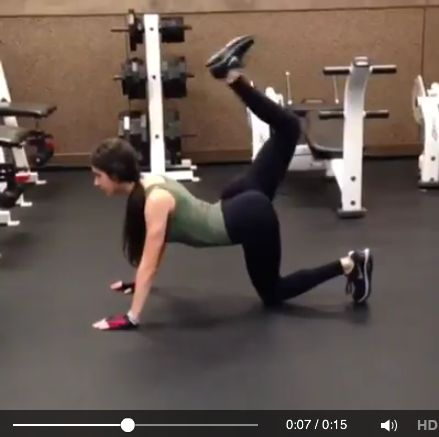 jen selter gym video glutes fitness fit happens