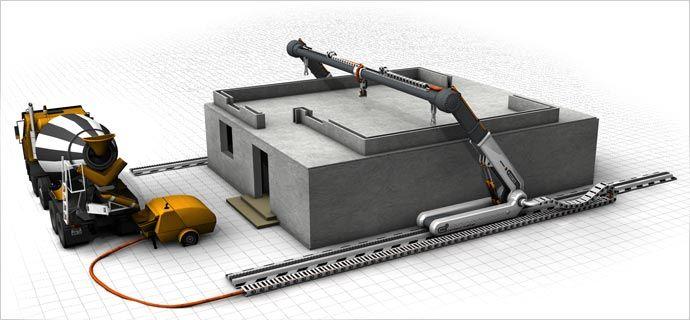 ContourCrafting – новая эра в строительстве зданий