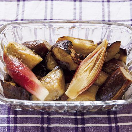 なすとみょうがの炒めマリネ | 柳澤英子さんのマリネの料理レシピ | プロの簡単料理レシピはレタスクラブニュース