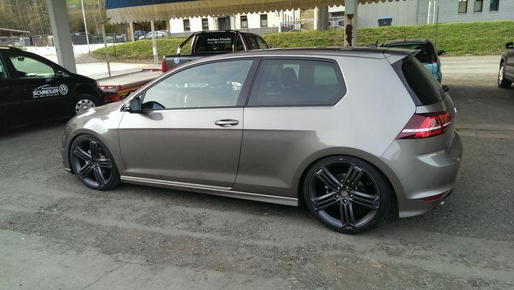 Mk7 Golf R - Limestone Grey