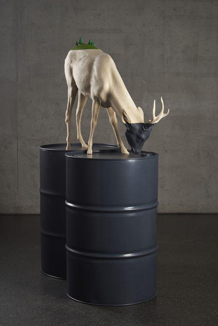 Wooden Wonders: The surreal sculptures of Willy Verginer | Creative Boom
