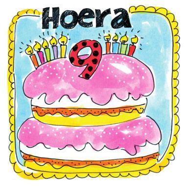 Blond Amsterdam happy birthday 9