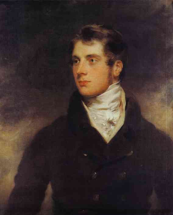 Portrait of Hart Davis, Jr., by Sir Thomas Lawrence. Private collection.