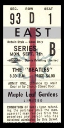 ticket...$4 Can you Imagine?