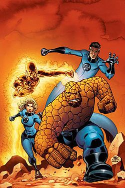 Member(s) Mister Fantastic Invisible Woman Human Torch The Thing Fantastic Four - Wikipedia, the free encyclopedia