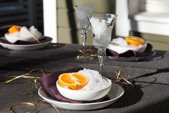 Stylish party setting by Pisa Design, tyylikäs juhlakattaus Pisa Designilta.
