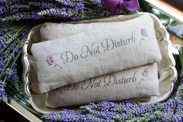 cg lavender do not disturb pillows: Craft, Eye Pillows, Diy'S, Gift Ideas, Diy Lavender, Eyes