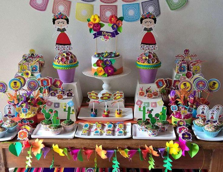Fiesta+temática+Frida+Kahlo