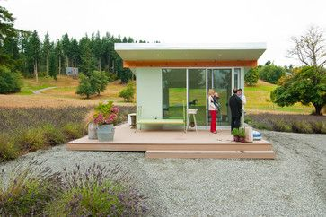 Whidbey Island Potting Shed - modern - garage and shed - seattle - by BUILD LLC
