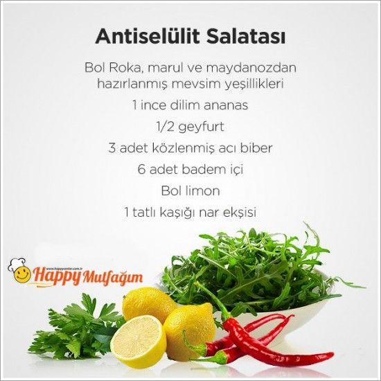 anti selülit salatası - Google'da Ara