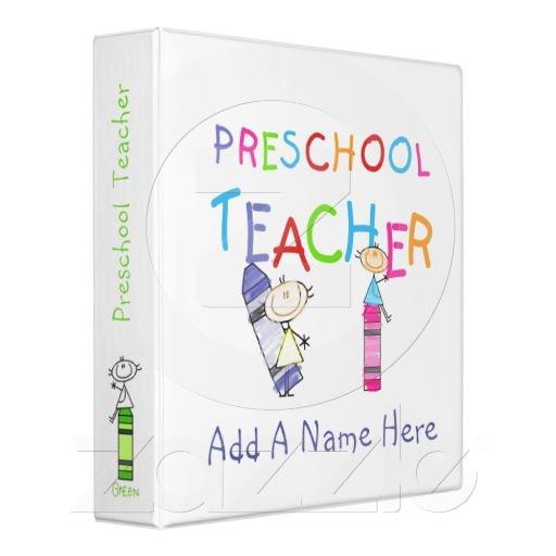 Kindergarten Calendar Binder Pages : Stick figure preschool teacher binder figures