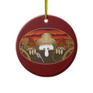Cowboy Kilroy Ornament