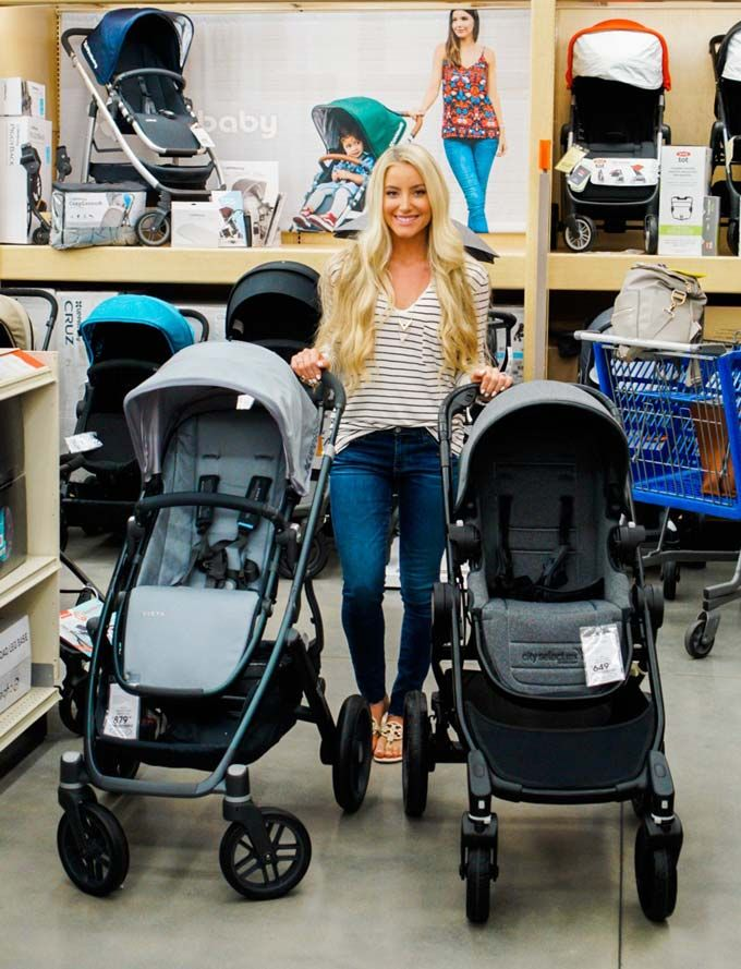 Katelyn Jones A Touch of Pink Blog buybuy BABY Stroller