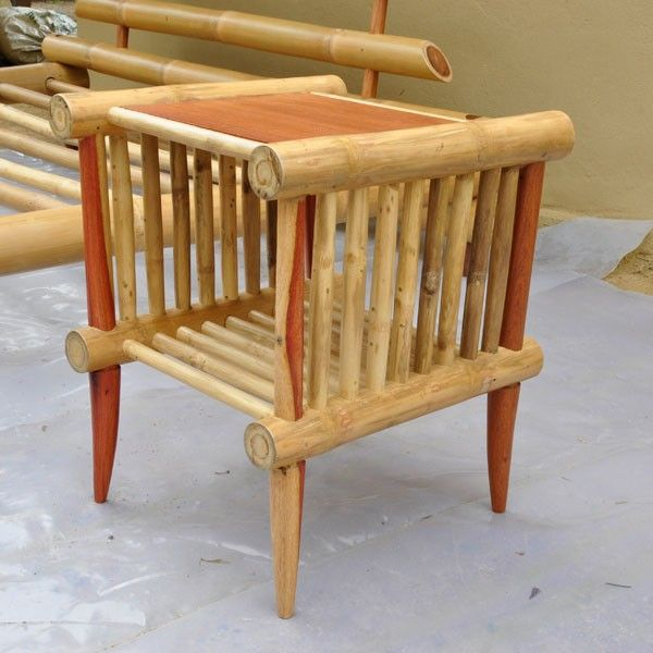 furniture made of bamboo. Furniture Bamboo Bedside Table Made Of