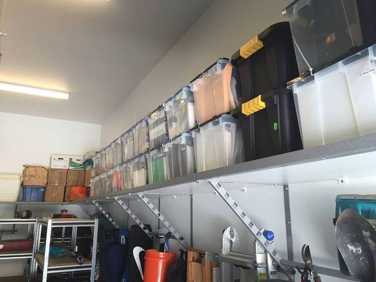 Unique Monkey Bar Garage Shelves