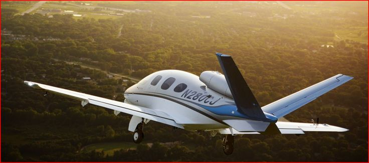 imagine cruising through the azure sky in Cirrus comfort, luxury, safety and now turbine smoothness. The Cirrus Vision SF50 is not a Very Light Jet (VLJ), it is in a class by itself: a Personal Jet, designed to fill a significant niche between the piston single and twin and the Very Light Jet (VLJ).