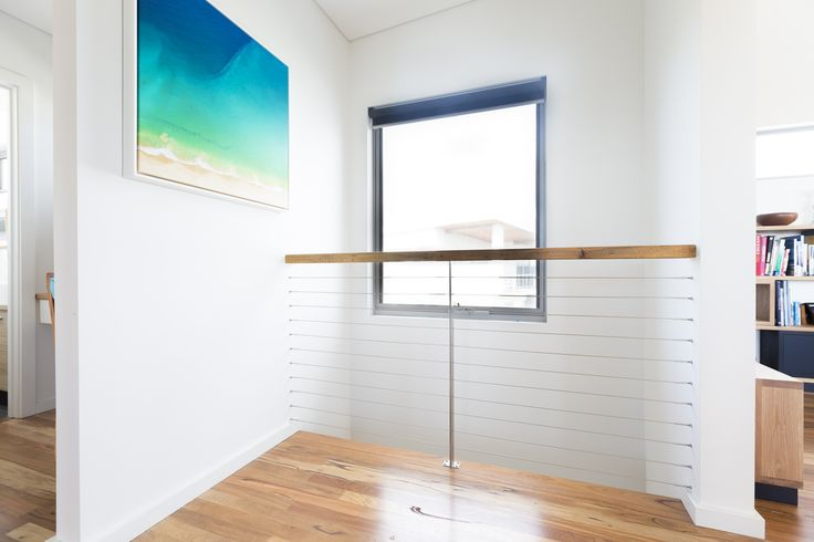 Unique balustrade without end posts.  For free online instant quote use our website Balustrade Builder http://www.miamistainless.com.au/balustrade-builder-start