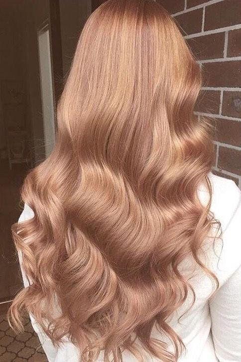 Rose Gold Hair Ist So Verträumt Wie Es Sich Anhört Anhort