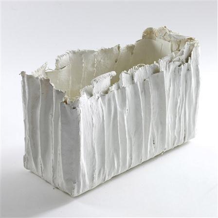 Serax - Vase en platre Gm, 35 x 20 x 12 cm, blanc