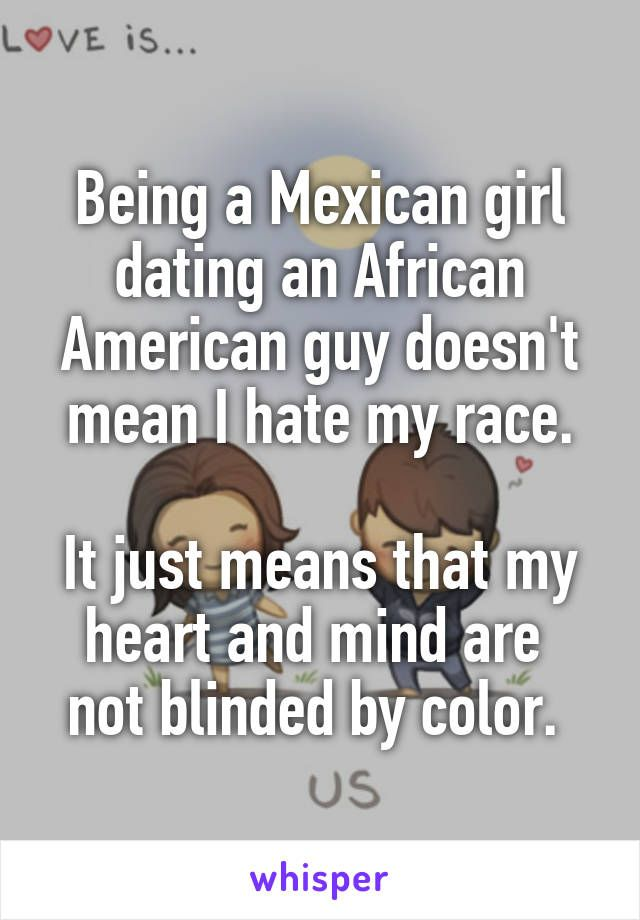 Mexican american dating