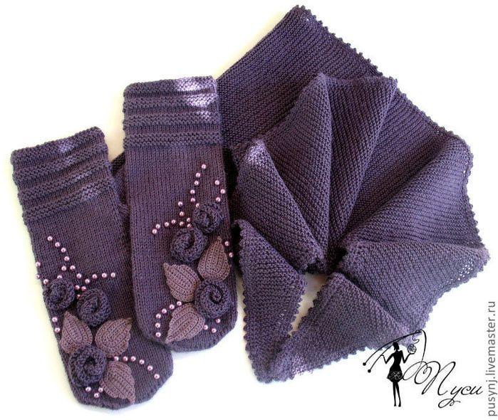 Идеи оформления варежек, перчаток, митенок. Обсуждение на LiveInternet - Российский Сервис Онлайн-Дневников