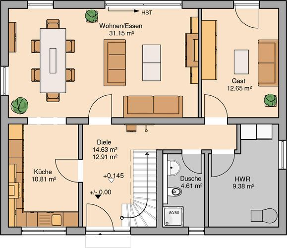 Familienhaus Signum von Kern-Haus | Ideal für Familien