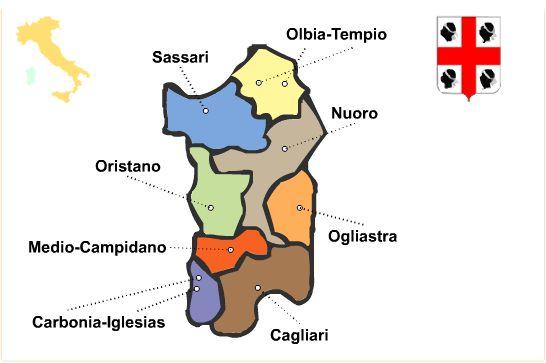 Region Sardinien