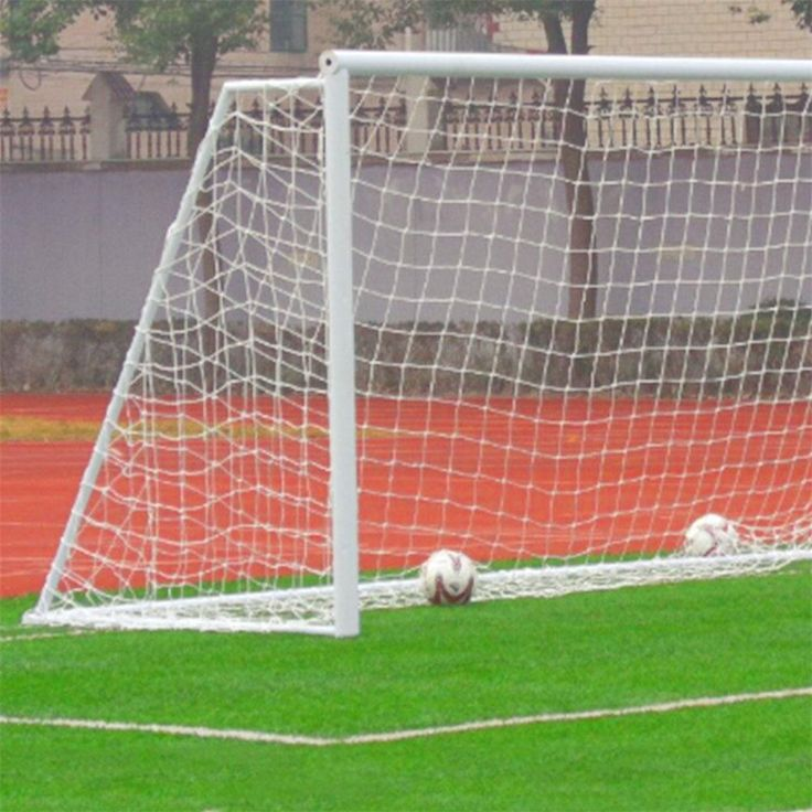 New 1Pcs Football Soccer Goal Post Net Full Size Sports Match Outdoor Training Practice Junior Poly Fiber Wholesale #Affiliate