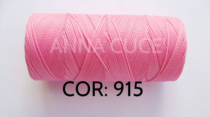 COLORE: 915 - 20 metri filo cerato LINHASITA 1 mm di spessore, filo per macramè, materiali : Merceria di annacuce