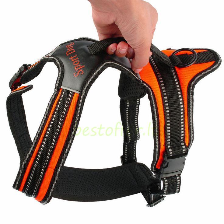 Heavy DutyPadded Pet Dog Harness XL Large Medium Small