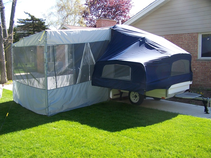 Roll-A-Home Motorcycle Campers