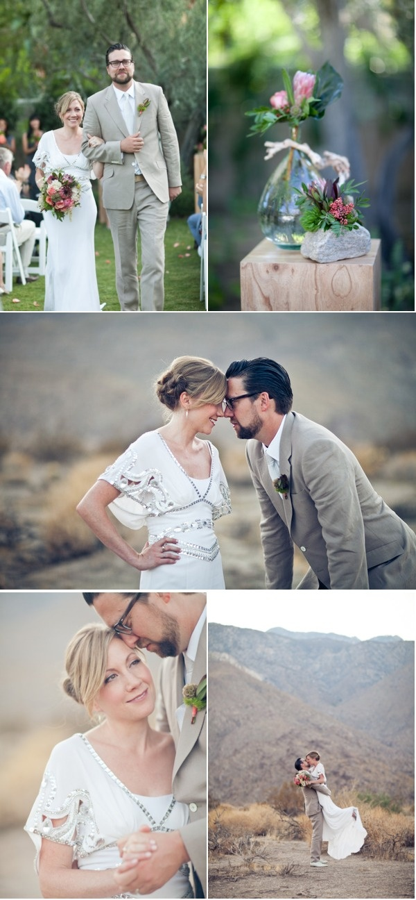 Palm Springs Wedding by Celebrations of Joy! + Mi Belle Wedding Photography   Style Me Pretty