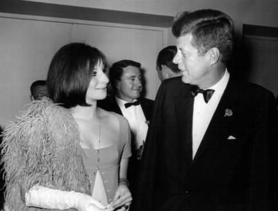 Όταν ο JFK συνάντησε τη Barbra...