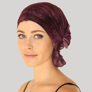 DANIELLE RUTH | Chemo Beanies® Stylish, slip-on, comfortable head covers for hair loss due to chemo for cancer treatments.